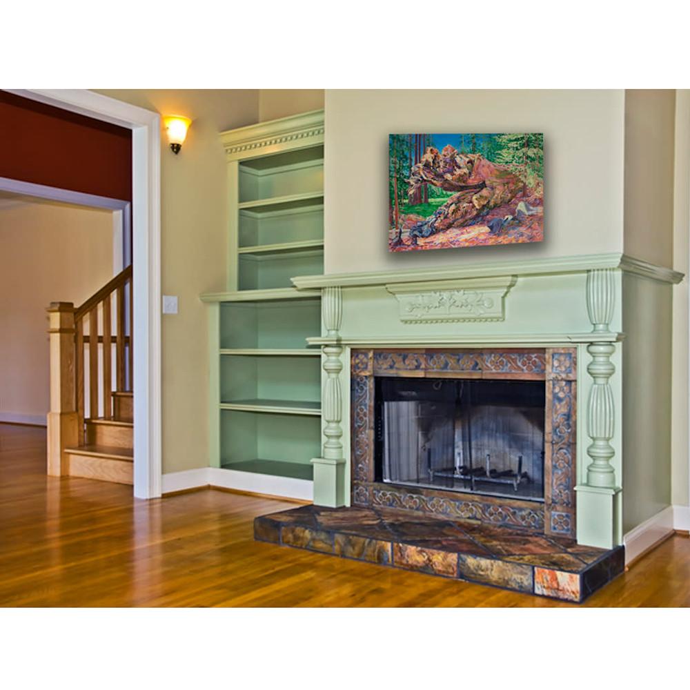 SEQ 049 fireplace