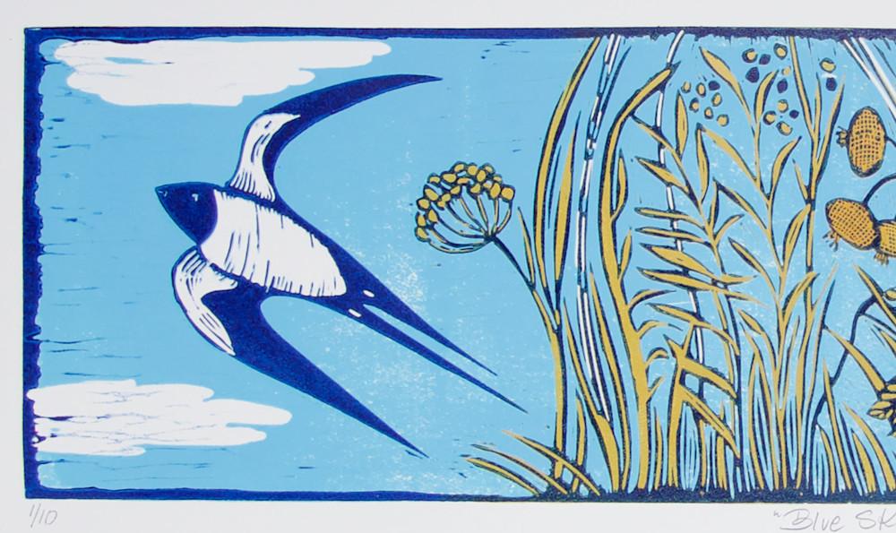 Blue Skies swallow