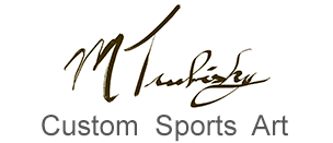 Custom Sports Art