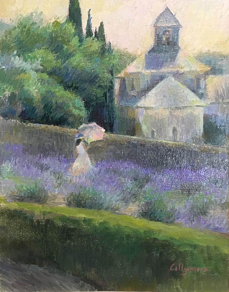 Collymore Lavender at Abbaye of Senanque 1000