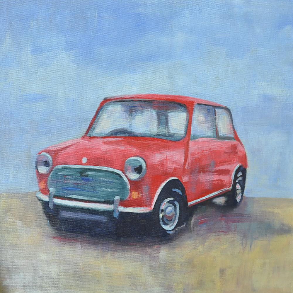 36x36 Red Mini by Steph Fonteyn