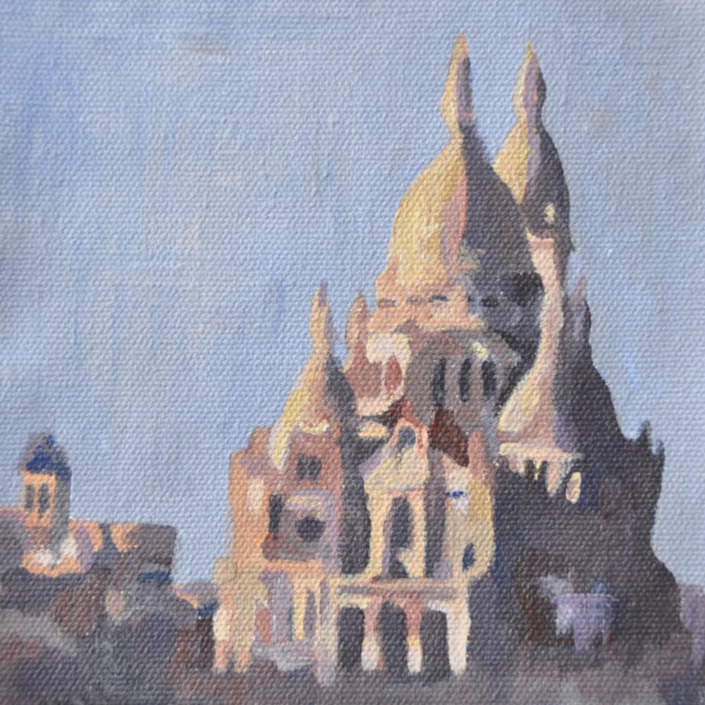 13x13 Sacre Coeur by Steph Fonteyn