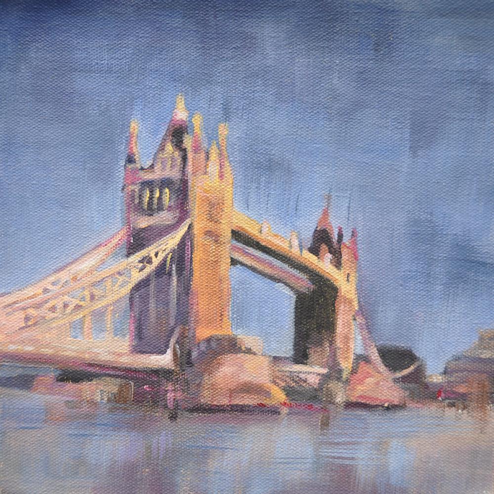 19x19 London Tower Bridge by Steph Fonteyn