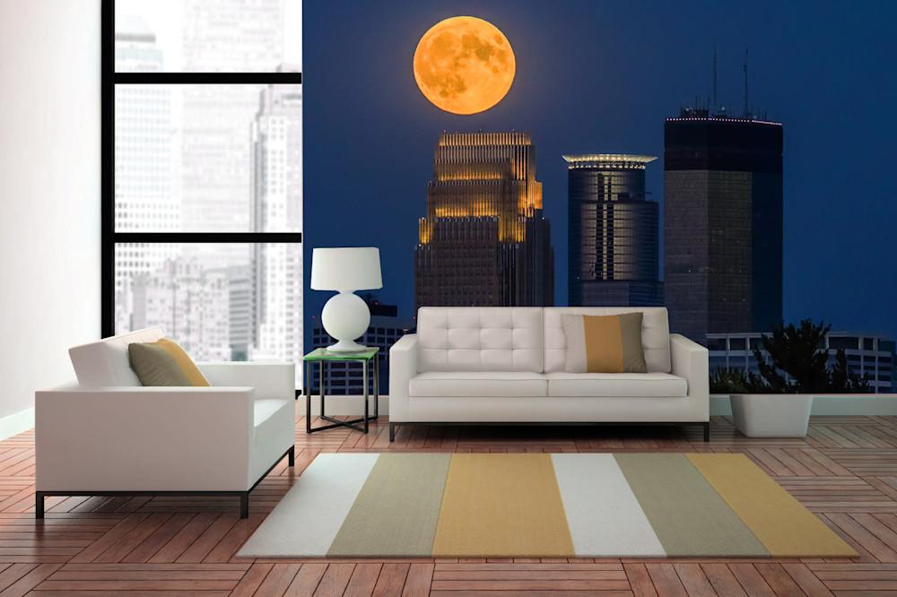 Full Moon Skyline b