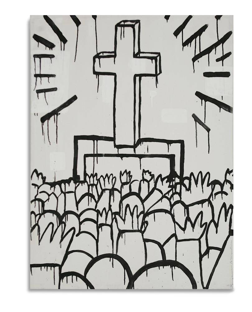 Keith Haring Cross Benjamin Alejandro