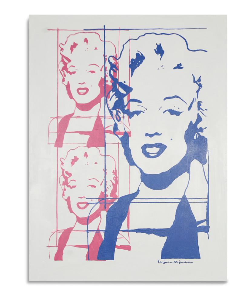 Marilyn Monroe Everything is a Copy of a Copy Benjamin Alejandro