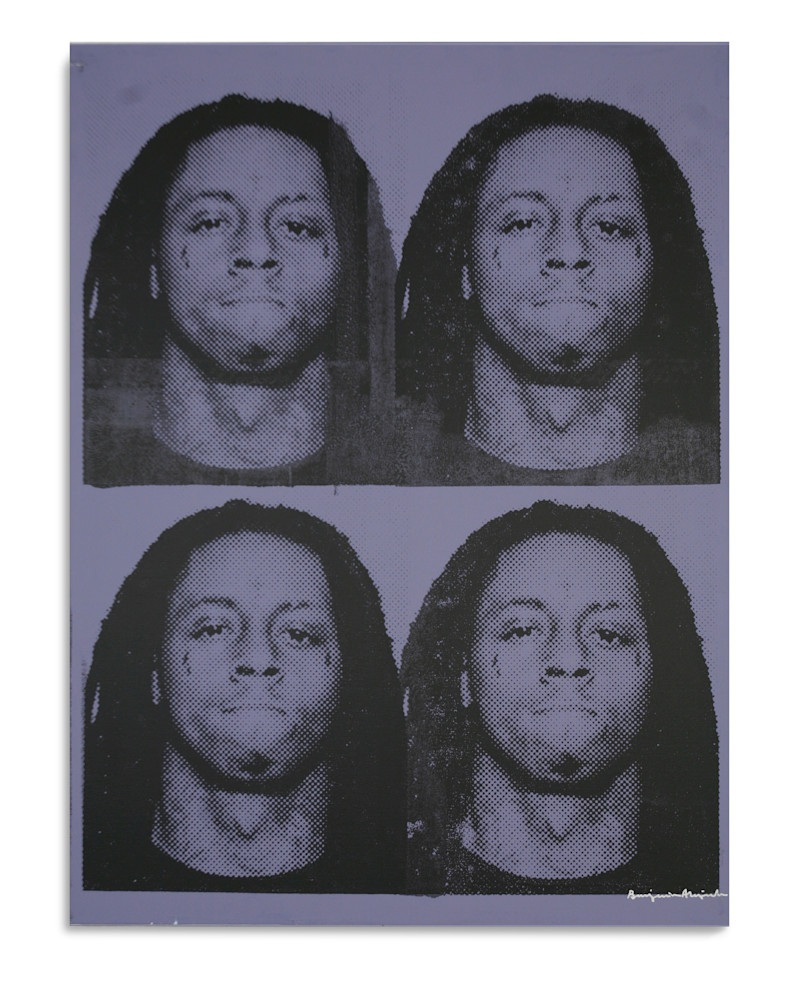 Mugshot Lil Wayne Purple Mugshot Series Benjamin Alejandro