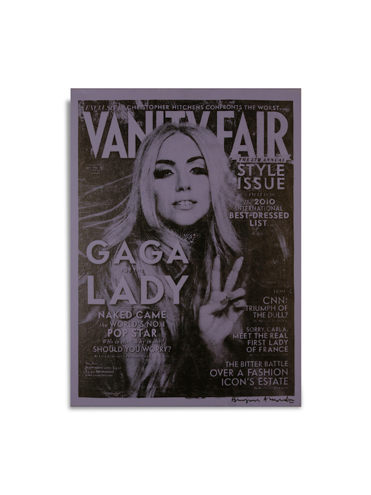 Untitled Lady Gaga Vanity Fair Blue Benjamin Alejandro 20X26