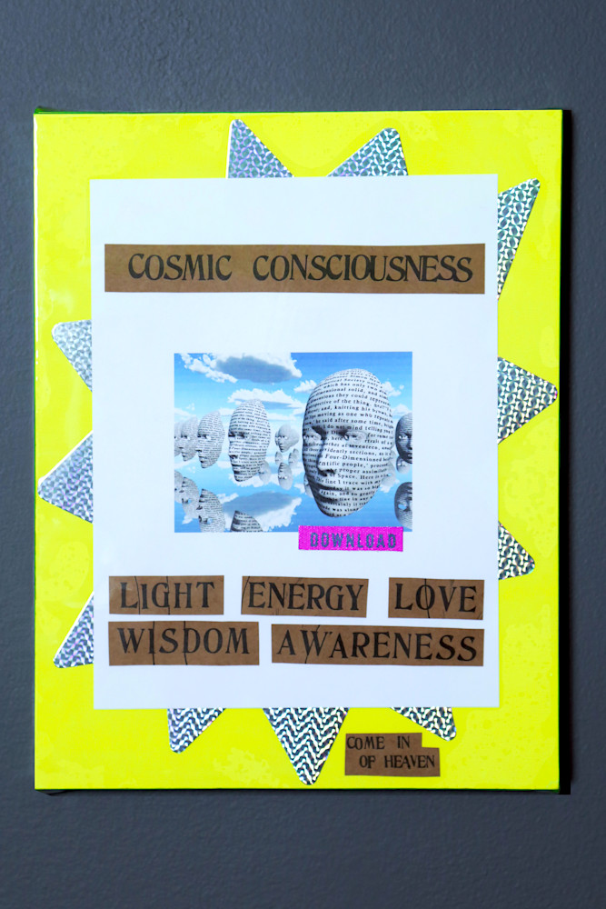Cosmic Consciousness Mixed Media 8x11 $1200