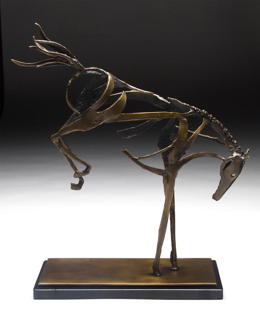 Bucking Spirit 20x19x6 $2900