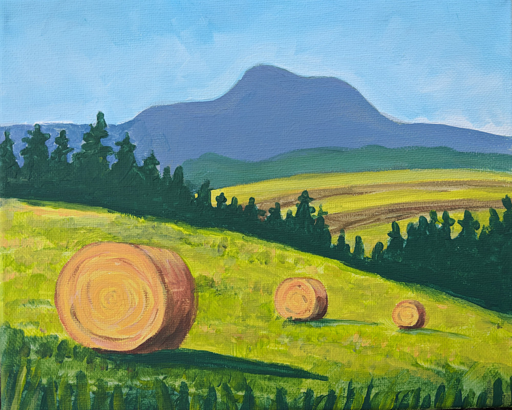 Image result for bolton valley paint night hay bales