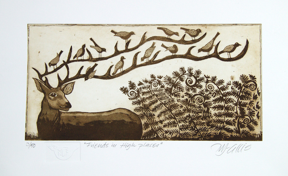 Hjort sepia