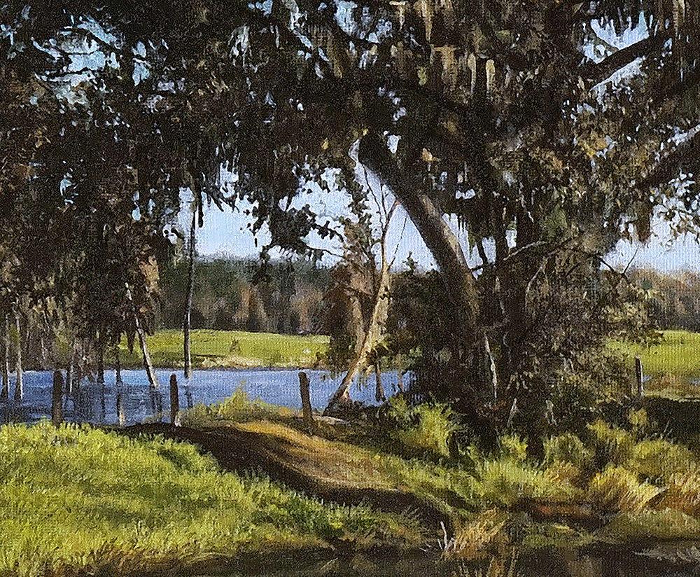 Serene Summer Oak detail 1000 pixels
