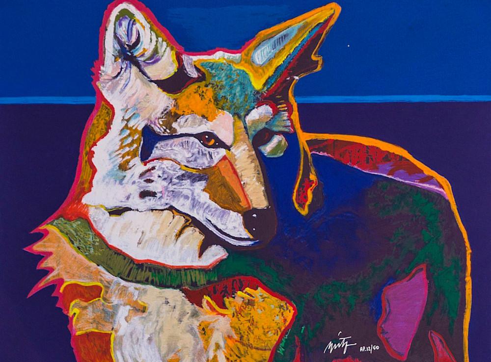 Coyote Portrait Suite 1