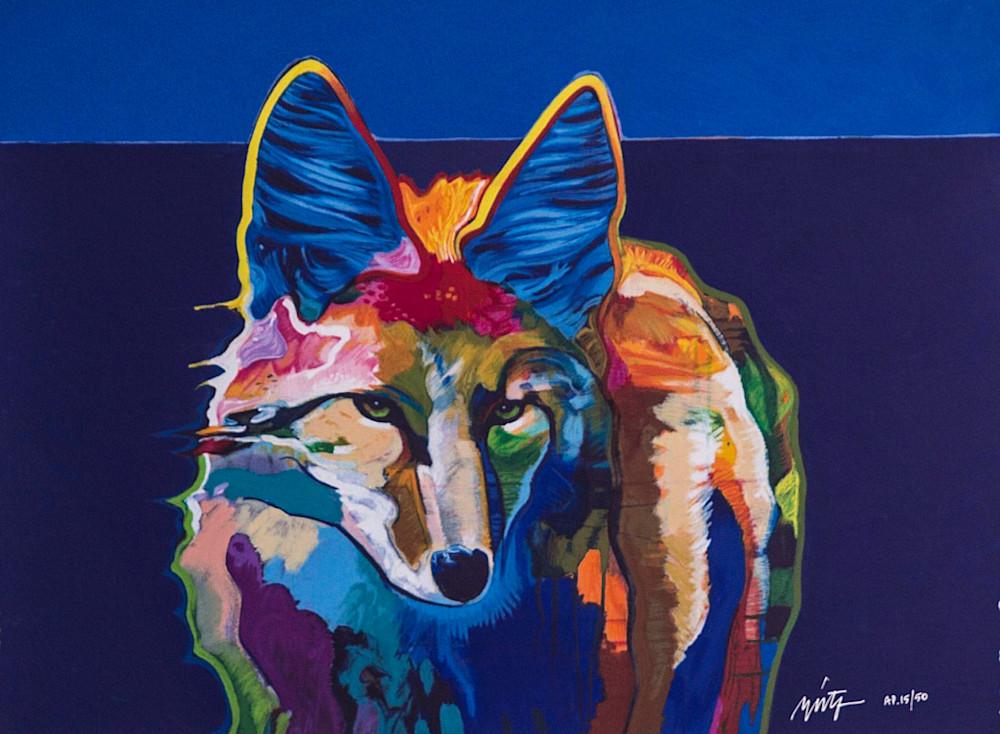 Coyote Portrait Suite 2