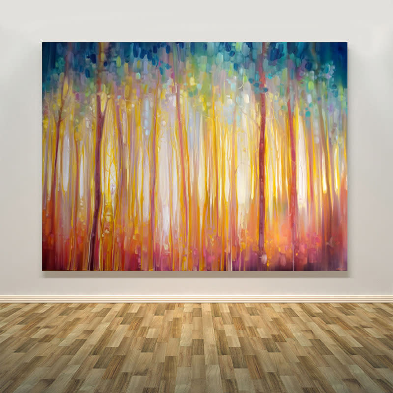 golden forest wall small