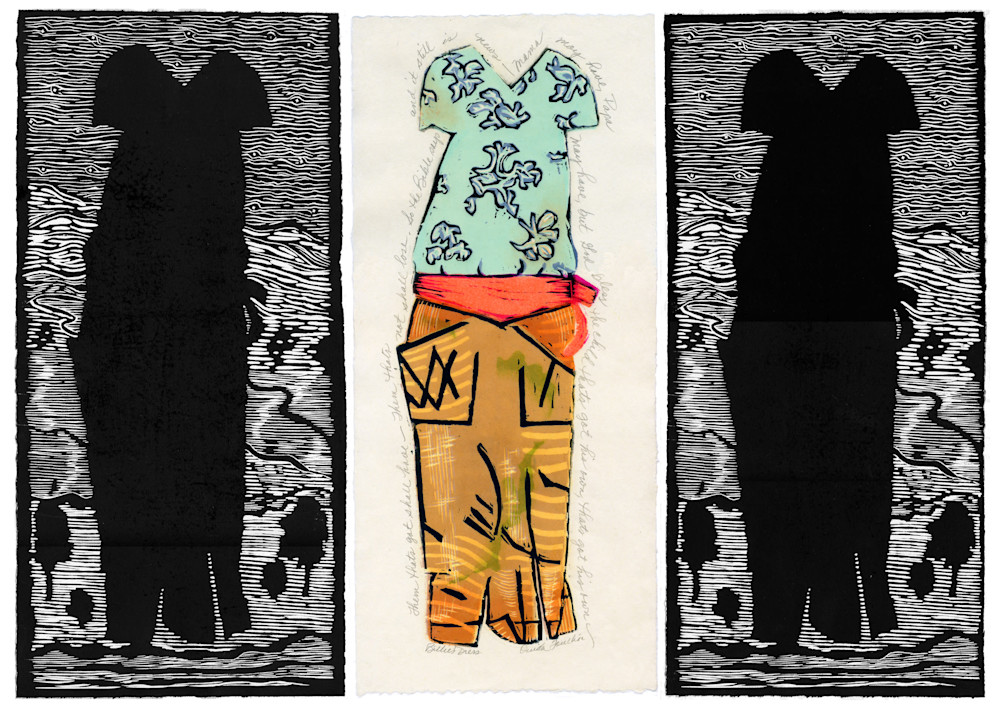 Triptych, Billie's dress reduced
