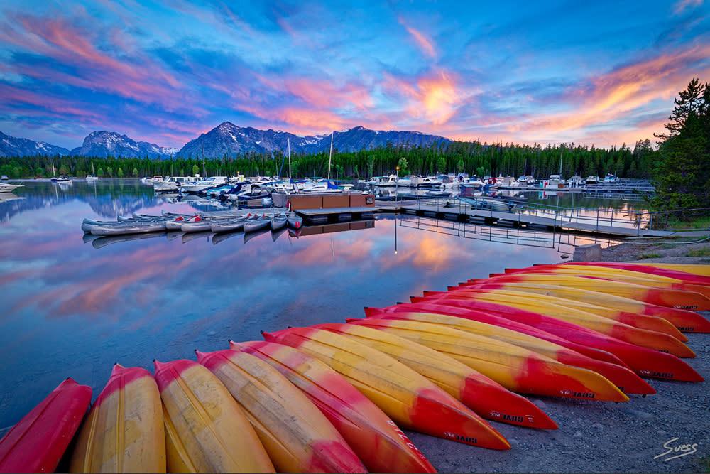 Sunrise at the Marina 1000px