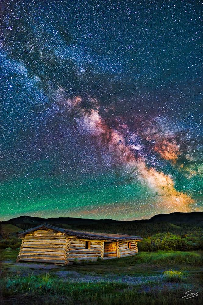Cunningham Cabin Milky Way 1000px