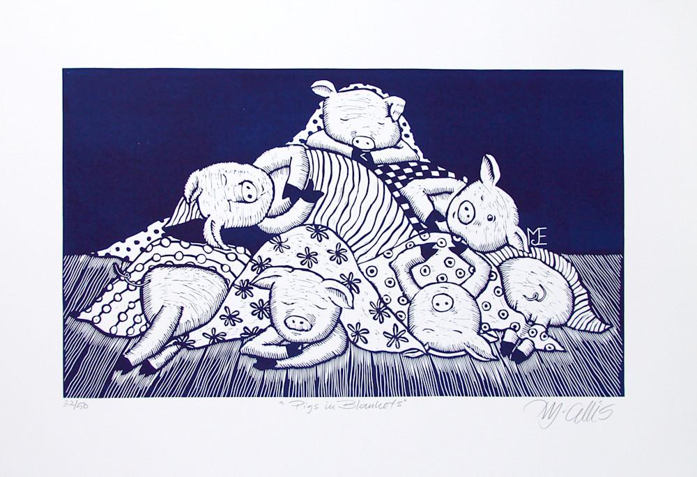 Pigs in blankets navy