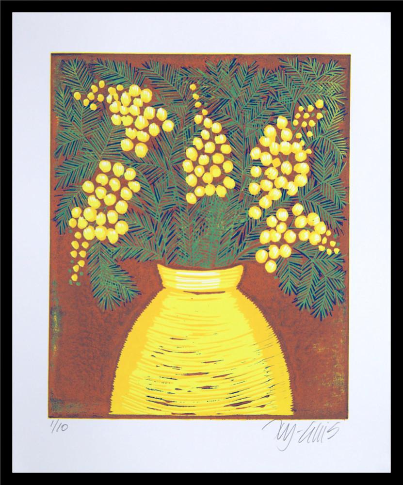Mimosa 2 framed