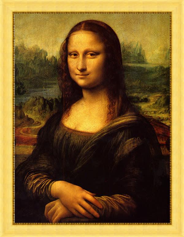 Mona Lisa 2 by Da Vinci FRAME