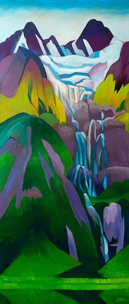 Rainbow Galcier Falls EmmaBarr