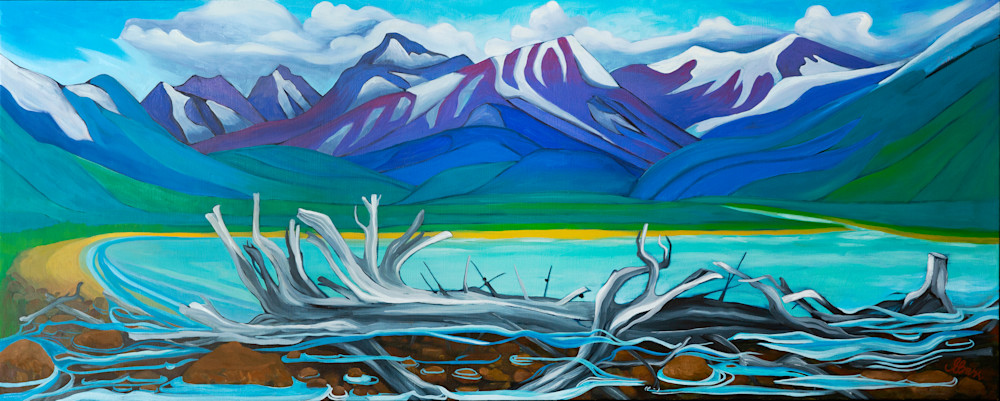 Glacier Fed Lake Emma Barr