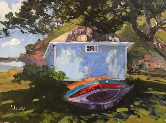 Kayaks with Boathouse