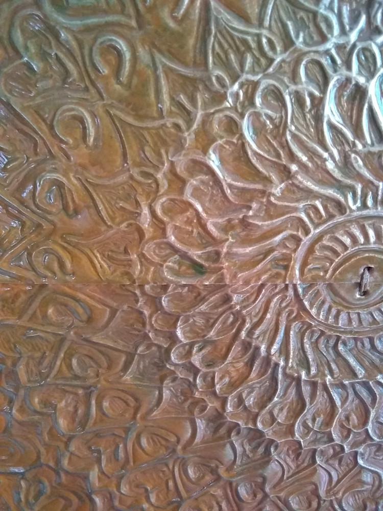 A Tribal Mandala in Rust #8