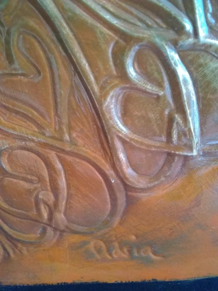 A Tribal Mandala in Rust #10