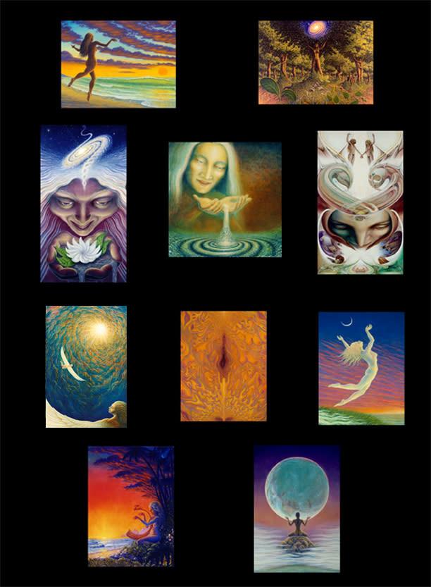 goddess notecards
