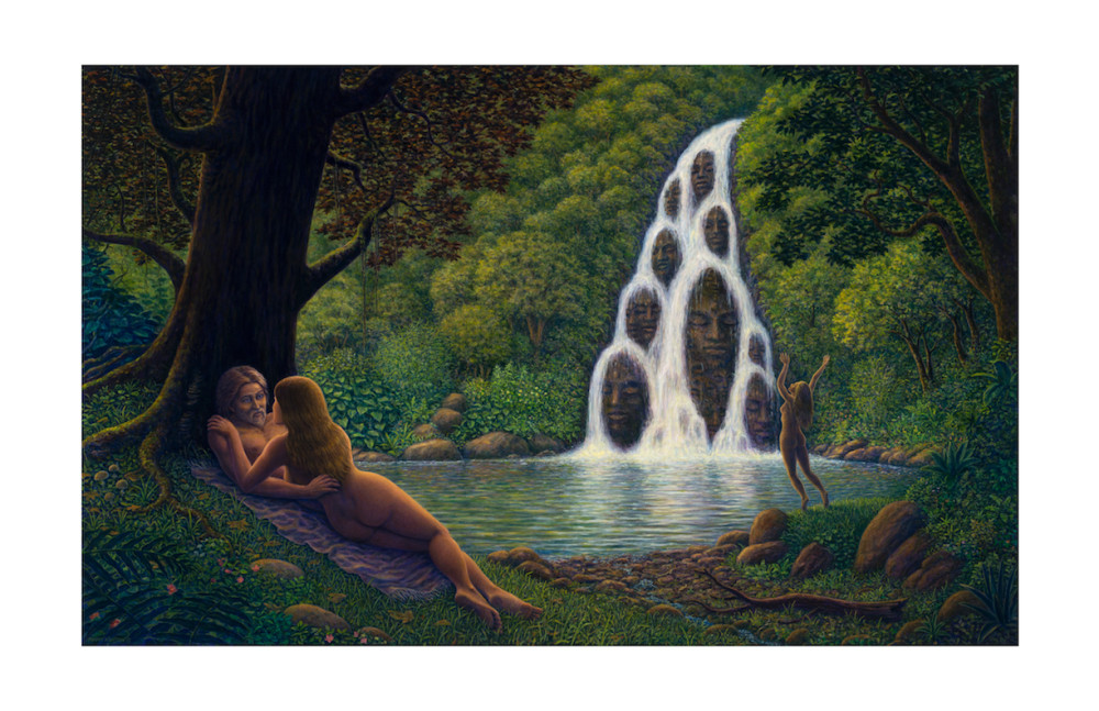 Fountain of Youth notecard