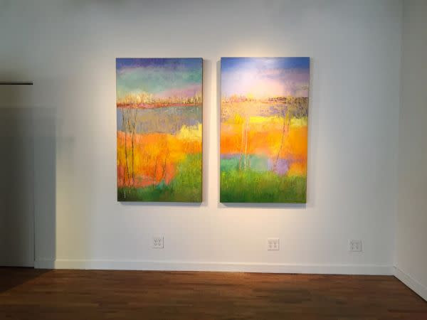 Tracy Lynn Pristas Original Artwotk Abstract Landscape Paintingjpg