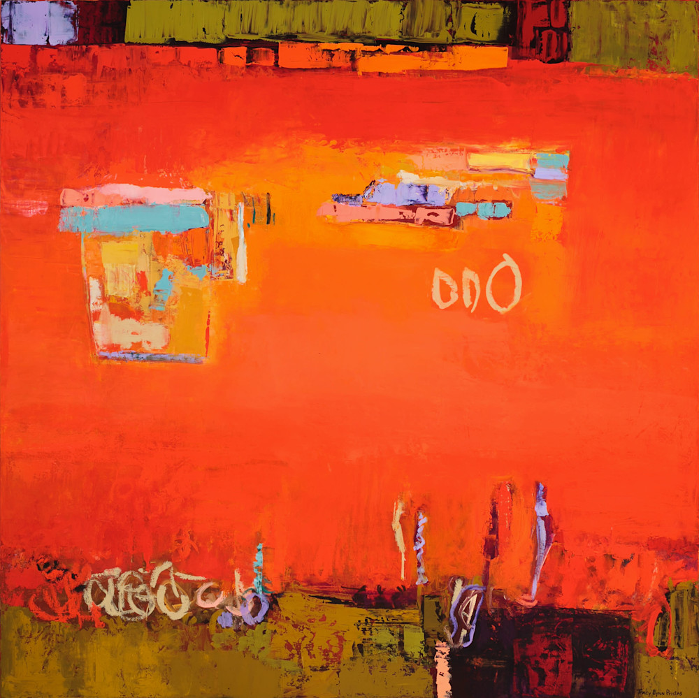 Tracy Lynn Pristas Original Red Abstract Art For Sale Online