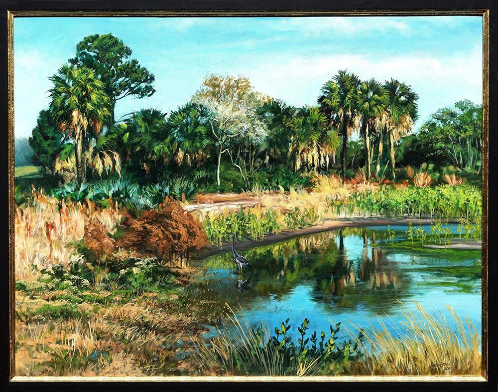 Kevin Grass Still Water framed