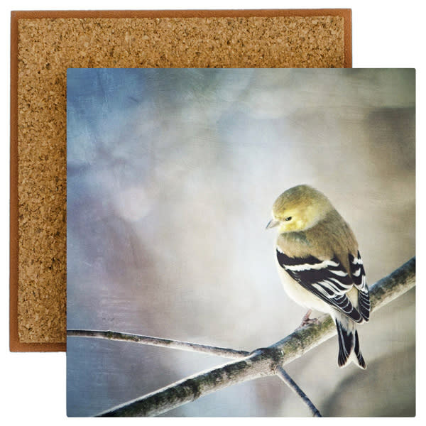 Goldfinch Photo Tile