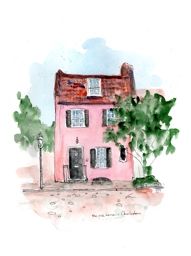ThePinkHouse9x12