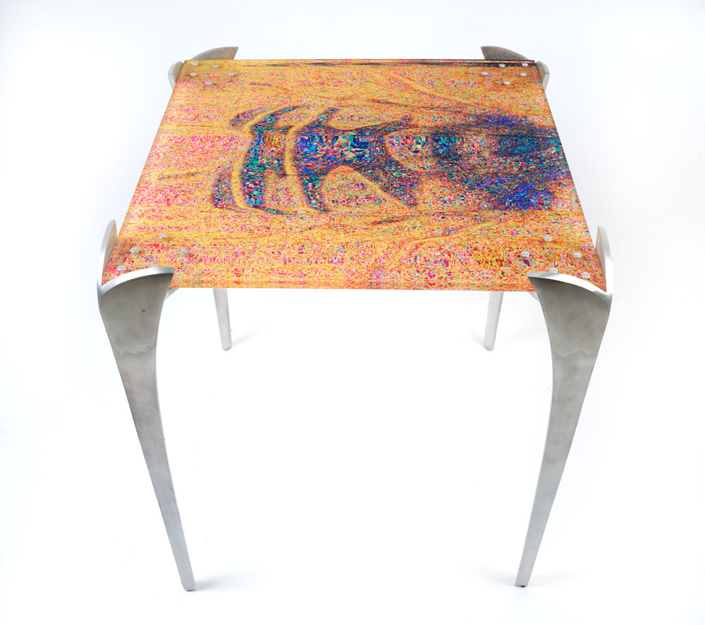 Bee Mimic End Table