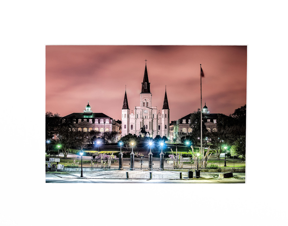 Andy Crawford Photography St Louis Cathedral in the morning