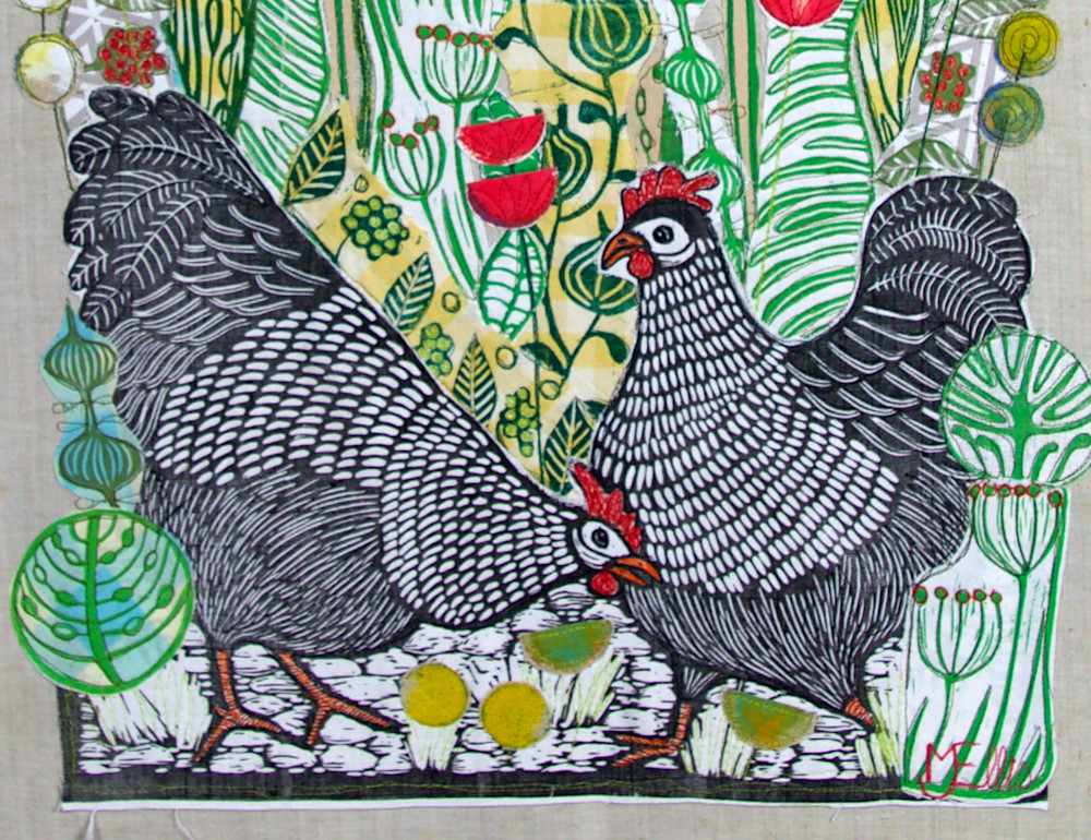 Hens in the Poppyfield signature