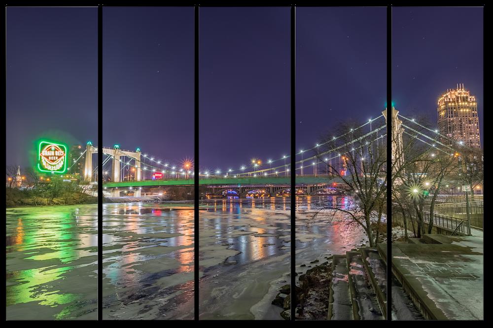 Winter Minneapolis River