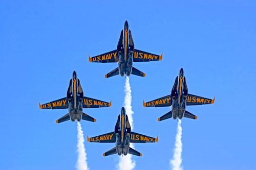 US NAVY BLUE ANGELS MILITARY AIRCRAFT POSTER PRINT 24x36 HI RES 9 MIL PAPER