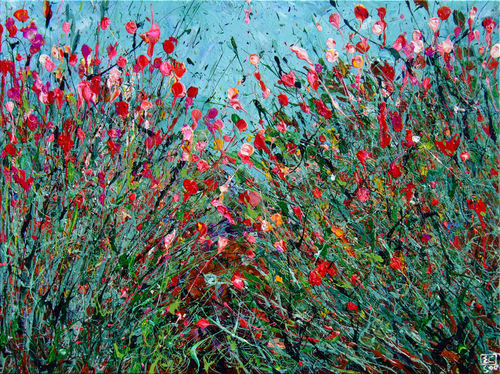 Desert wildflowers iv 2 30x40 vzede3