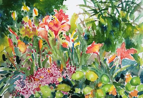 Summer lilies at the garden utun7w
