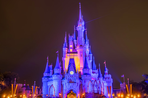 Cinderella s castle at night 1 xndmux