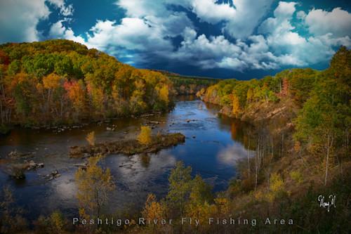 Peshtigo river fly fishing area 4 q2qzyr