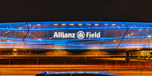 Allianz field reflection lgsxuy