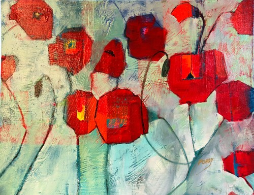 Dancing poppies vdty8o