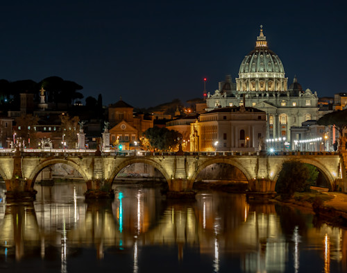 St peter s and tiber 11x14  tphzke